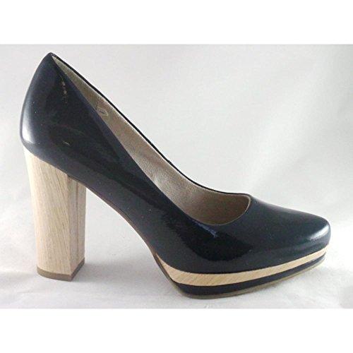 Zapatos azul marino formales Marco Tozzi para mujer qLeOVx