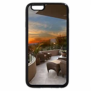 iPhone 6S / iPhone 6 Case (Black) fabulous view from a balcony
