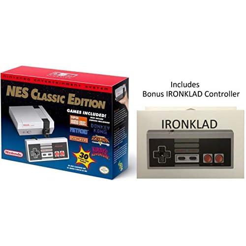 Nintendo Entertainment System: NES Classic Edition With Bonus...