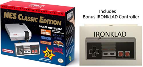 Nintendo Entertainment System: NES Classic Edition With Bonus IRONKLAD Controller