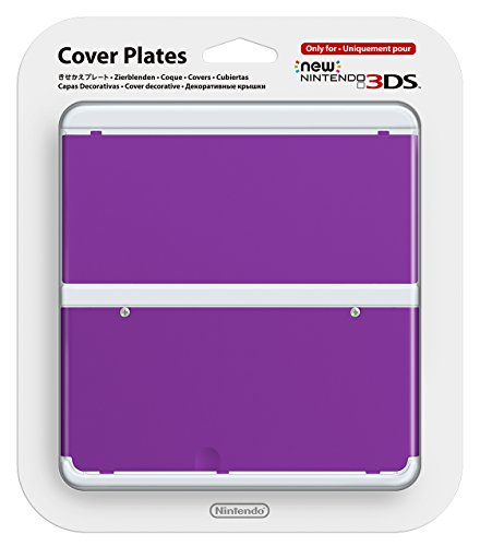 New Nintendo 3ds Cover Plates No.035 (purple) [Nintendo - Purple Luigi