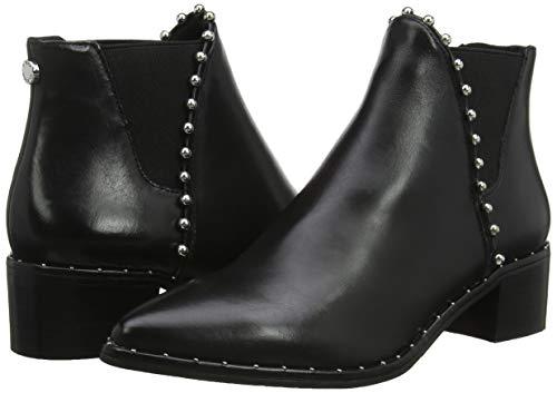 Black Black Black Ankleboot Madden 017 Steve Leather Stivaletti Floruss Floruss Donna HYzXPw