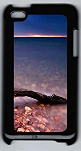 Driftwood Polycarbonate Hard Case Cover for iPod 4/ iPod 4th ¨CBlack
