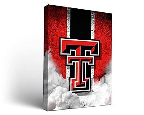 Amazon.com: Texas Tech Ttu Red Raiders Canvas Wall Art Vintage ...