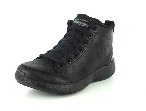 BBK Burst Away padded Skechers Women's tech Carried foam Negro Trainers warm zwggq7d