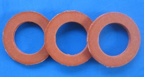 (3) #12 Meat Grinder Chopper Worm Auger Fiber Fibre Washer for Hobart 1/2