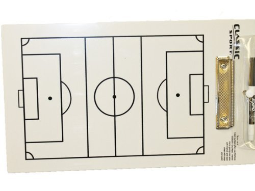 960 Soccer Coaching Board / Coaches Clipboard Classic Sport/Sportcraft