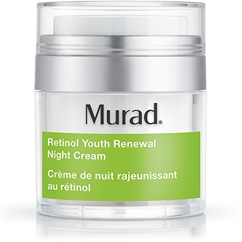 (Murad Retinol Youth Renewal Night Cream - (1.7 fl oz), Breakthrough Anti Aging Night Cream with Retinol and Swertia Flower to Visibly Minimize Wrinkles and Restore Your Skin's Smooth)