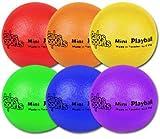 """Palos Sports 4.3"""" Mini """"TuffSKIN"""" Foam Balls Set of 6"""