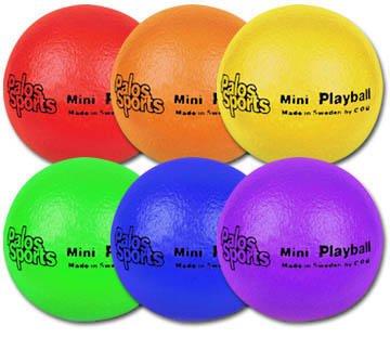 "Palos Sports 4.3"" Mini ""TuffSKIN"" Foam Balls Set of 6 by Palos Sports"