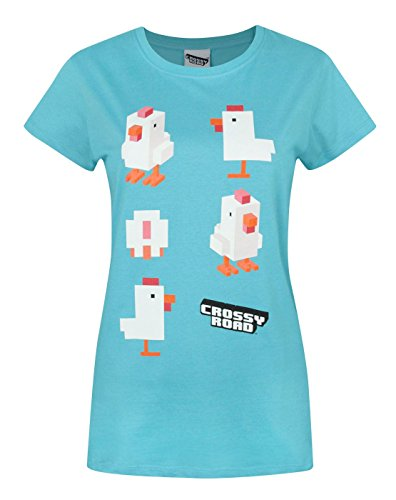 Damen - Crossy Road - Crossy Road - T-Shirt (L)