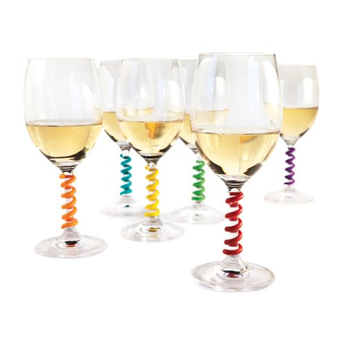 queen bee wine glass - 8