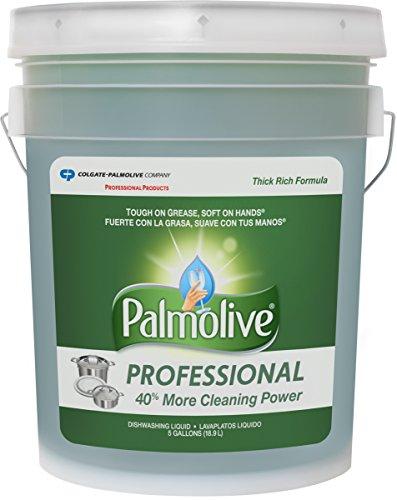 Price comparison product image PALMOLIVE Professional Dishwashing Liquid,  Dish Liquid Soap,  Dish Soap,  Phosphate Free,  pH Balanced,  Dishwasher Cleaner,  5 Gallon Bucket (Model Number: 204917)
