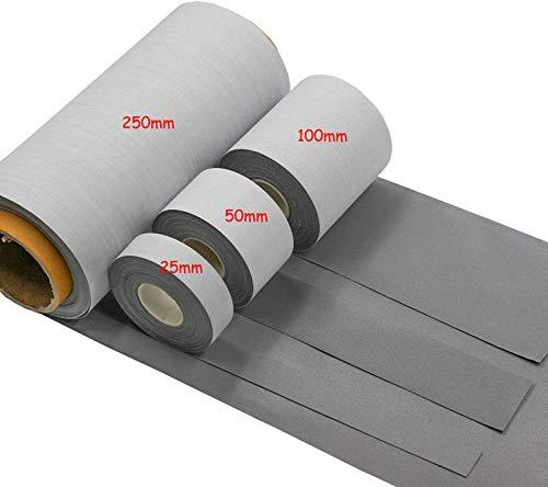 FidgetGear 安全明るい銀製の反射TC生地は衣服テープで縫います 2