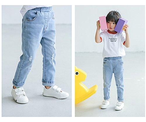 Sakuracan Fashion Sneaker for Boys Girls Canvas Velcro Running Sport Shoes (Toddler/Little Kid) by Sakuracan (Image #6)