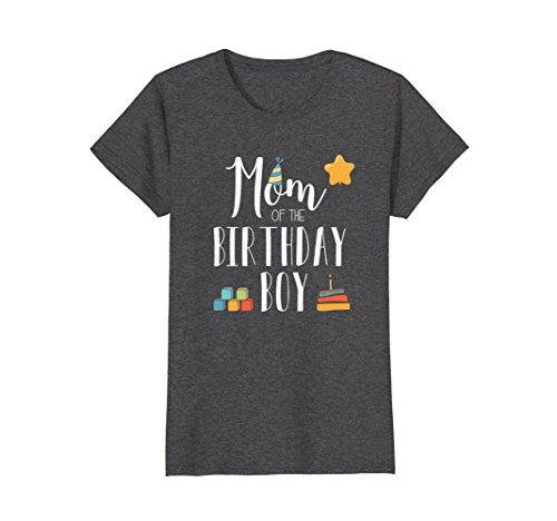 Amazon Mom Of The Birthday Boy T Shirt Clothing