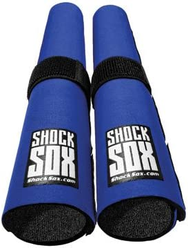 Shock Sox Fork Seal Guards 37-50mm Fork Tube 13 Blue for Beta 450 RR Cross Country 2012