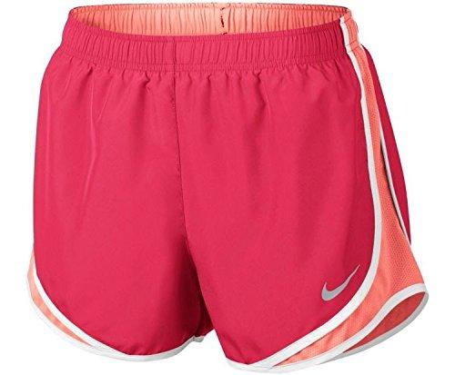 Shorts Dri Nike Fit Running Women Tempo (Nike Womens Dry Tempo Running Short, Racer Pink/Sunset Glow, Medium)