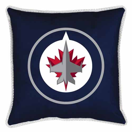Price comparison product image NHL Winnipeg Jets Sidelines Toss Pillow, 17 x 17, Midnight