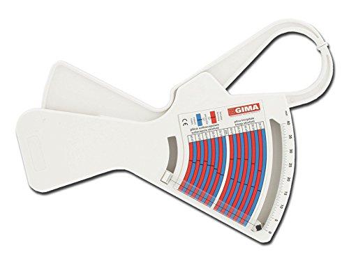 Fat 1 GIMA skinfold calliper, body fat meter, medical device certified