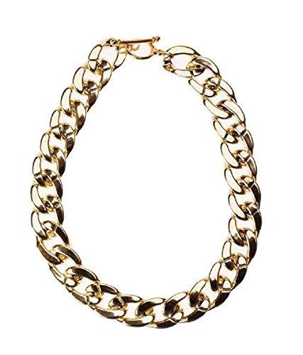 MANDI HOME Hot Shiny Link Id Celebrity Style Alloy Choker Necklace Chunky Chain