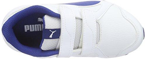 Puma Axis v4 SL V PS - Zapatillas Unisex Niños Blanco - Weiß (puma White-Limoges 06)