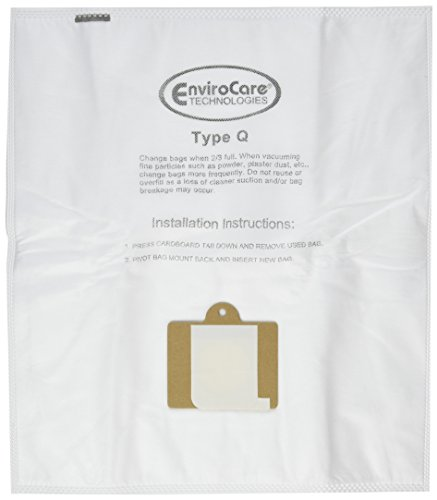 6 Kenmore HEPA Canister Type C, Q, 50558 50555 50557 Sears Anti-Allergen Vacuum Bags by (Sears Vacuum Bag)