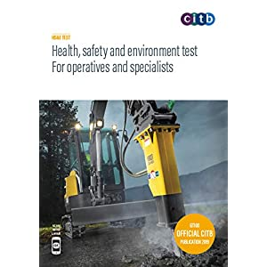 Health, safety and environment test for operatives and specialists 2019 : GT100/19Paperback – 15 May 2019