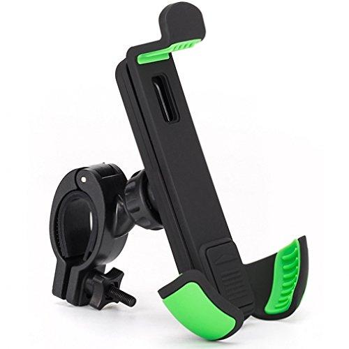 High Quality Bicycle Mount Bike Handlebar Phone Holder for Motorola Moto X, G, E - RAZR M - DROID RAZR, Maxx, MAXX 2, HD - Droid Turbo, Turbo 2, Mini, Ultra - Galaxy Mega, Mega 2, Avant