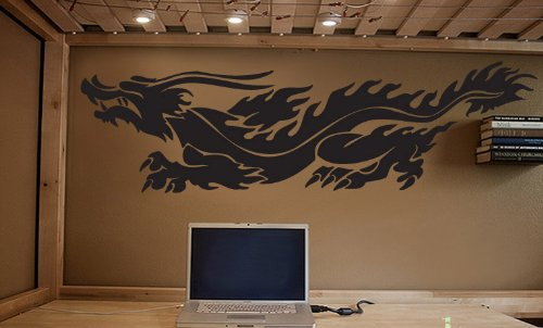 Vinyl Wall Art Decal Sticker Chinese Dragon 60