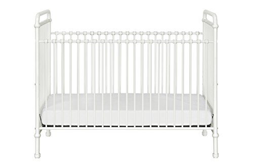 Million Dollar Baby Classic Abigail 3-in-1 Convertible Iron Crib,  Washed White by Million Dollar Baby Classic (Image #6)