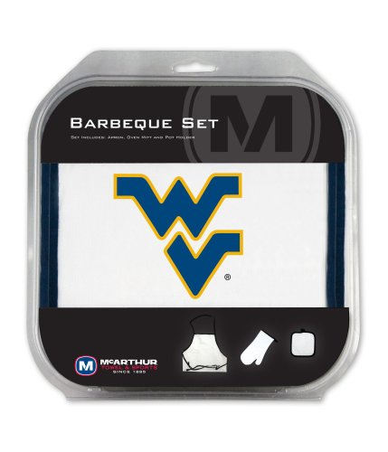 NCAA West Virginia BBQ Set