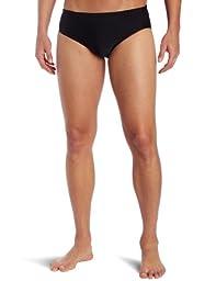 TYR Sport Men\'s Solid Racer Swim Suit (Black, 32)