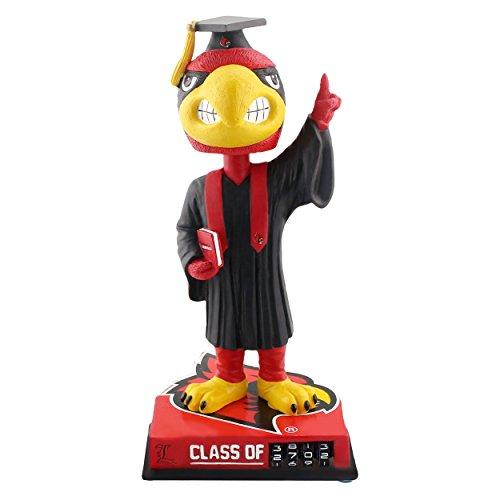 Louie Louisville Cardinals Graduation Special Edition Bobblehead