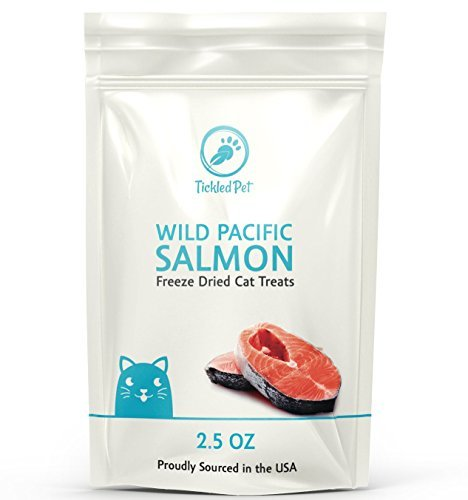 Image of Tickledpet Wild Pacific Freeze Dried Salmon Cat & Dog Treats 2.5Oz By Tickledpet (2.5Oz/1-Pack)