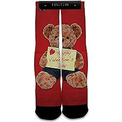 Function - Valentine's Day Teddy Bear Fashion Socks