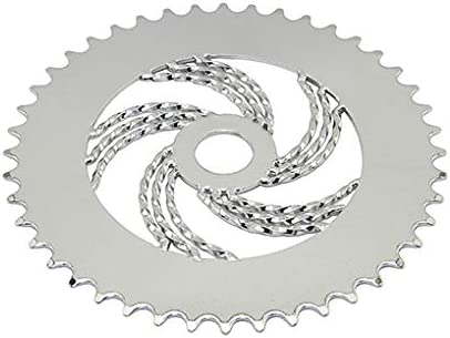 SINGLE TWIST SPROCKET 36T LOWRIDER BICYCLE BIKE CHROME