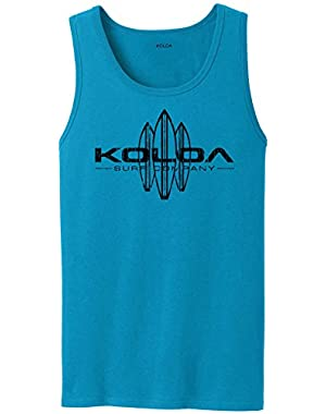 Koloa Surf Vintage Surfboard Logo Tank Tops in 27 Colors. Adult Sizes: S-4XL