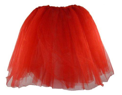 Teen & Adult Red Dance or Ballet Tutu (Cheap Dance Costumes)