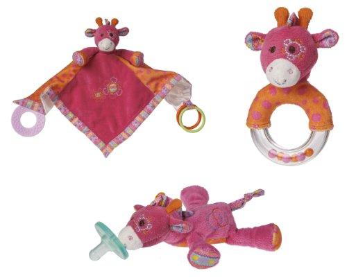 Mary Meyer Jasmine Giraffe WubbaNub Set