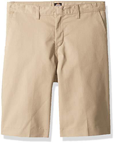 Dickies Kids Big Boys Flexwaist Flat Front Short, Desert Sand 10