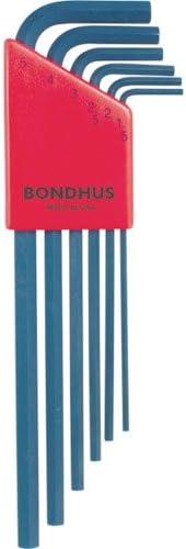 BONDHUS(ボンダス) 六角レンチセット6本組 ミリタイプ HLX6M