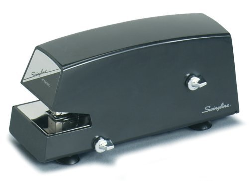 Swingline Commercial Electric Stapler, Heavy Use, 20 Sheets, Black (S7006701) by Swingline