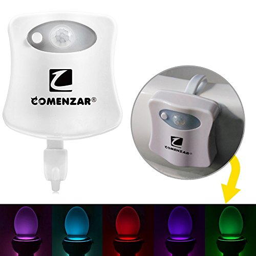 Toilet Activated Changing Nightlight Comenzar