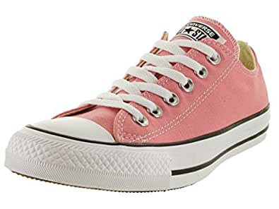 Converse - Chuck Taylor All Star Daybreak Pink Low top Shoes, Size: 3 D(M) US Mens / 5 B(M) US Womens, Color: Daybreak Pink/White/Black