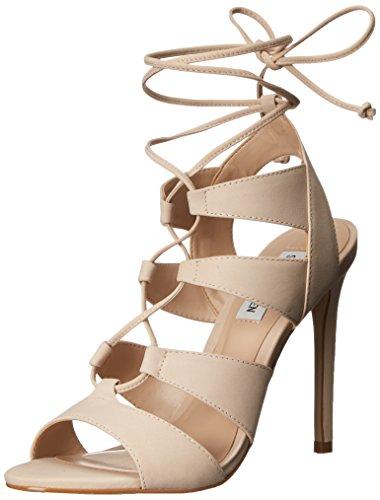 Femme Madden Steve Blush Sandales Nubuck Sandalette TpwwxZzF