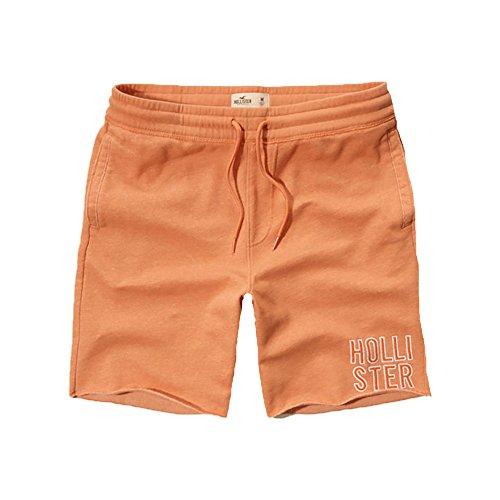 hollister-mens-fleece-shorts-s-orange-788