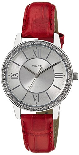 Timex Women's Analog Dial Watch Silver