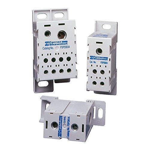 Mersen part FSPDB3C Desc: FINGER SAFE Cu PDB (1) 350KCMI