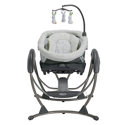 Amazon Com Graco Dreamglider Gliding Swing And Sleeper Rascal Baby